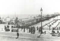 Vintage Reproduction Postcard, Brighton Pier 1901, East Sussex 98R