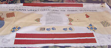 Uncut Susan Winget Country Cat panel to make doll or stuffed toy material fabric