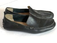 Born Black Leather Kilbury Comfort Driving Shoes Loafers Moccasins Mens Size 8