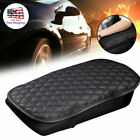 Car Auto Armrest Pad Cover Center Console Box Pu Leather Cushion Mat Accessories
