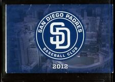 Schedule Baseball San Diego Padres - 2012 - Casino Sycuan