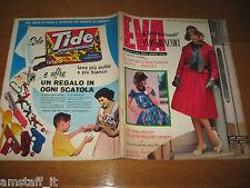 EVA=1959/25=RIVISTA MAGAZINE MODA DONNA WOMAN CUCINA ARREDAMENTO=