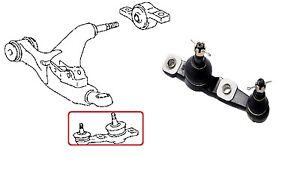 FRONT LEFT LOWER BALL JOINT FOR LEXUS IS220 IS250 IS350 IS F GS300 GS430 GS450H