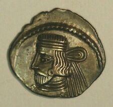 55-58 Ad Parthian Kingdom Silver Drachma Vardanes Ii C009* Free U.S Shipping *
