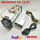 DHL BTC Miner AntMiner S9 13.5T With BITMAIN Power Supply Bitcoin Miner