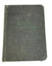 Masonic Trestle Board book Grand Lodge Massachusetts 1943 Pocket Book HC