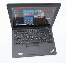 "Lenovo ThinkPad 2-in-1 Helix 11.6"" IPS Tablet: 8GB, 256GB, Warranty, Win 10"
