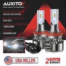 For GMC Sierra 1500 3500 2009 2010 2011 H8 H11 LED Headlight bulb low beam white