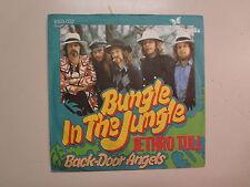 "JETHRO TULL:Bungle In The Jungle-Back-Door Angels-Germany 7"" 1974 Chrysalis PSL"