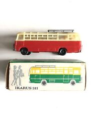 Espewe/Mr: Ikarus 311 City Bus 1:87 H0, Model, Red And Cream (235) Boxed