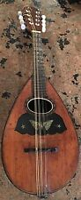 Vintage Stella Bowl Back Tater Bug Mandolin Mother Of Pearl Inlay