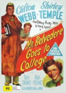 Mr. Belvedere Goes To College Clifton Webb DVD Brand New and Sealed Australia