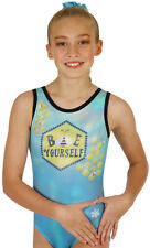 New! Bee Yourself Sublimated Gymnastics or Dance Leotards by Snowflake Designs