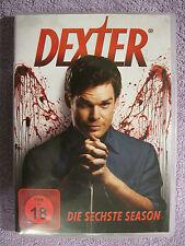 DVD Video Box Dexter - Staffel 6 (FSK 18) (2013) Die Sechste Season 4 DVD Set