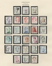 U.S. 1980 Great Americans, 26 Items COMPLETE, mNH Fine
