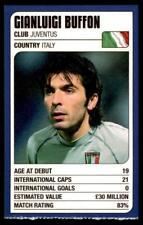 Revista de coincidencia-Trump Tarjetas (Copa del Mundo 2002) Adriano Buffon (Italia)