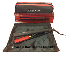 "FHI Platform 1"" Ceramic and Tourmaline Hair Straightener + Mat and Bag Brand New"