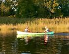 12' Vermont Pack Boat made w/ Kevlar composite Cherry wood trim Row or Sailboat