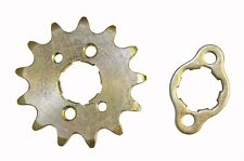 New 13T #420 Front Sprocket & Retaining Plate 90cc Atv Go Kart Dirt Bike Parts