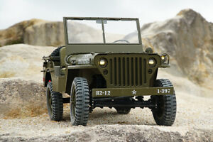 RocHobby 1941 Willy's WWII Jeep MB Scaler RTR RC - HUGE 1/6 Scale!!!