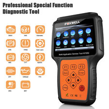 FOXWELL NT650 OBD2 Diagnostic Scan Tool ABS Airbag EPB DPF Oil Reset Injector