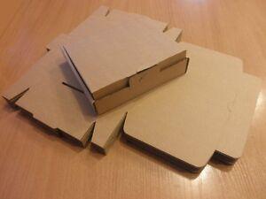 50X Small Shipping Cartons Postal Cardboard Boxes 150x130x30 High Quality