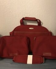 SAMSONITE Carry On Travel Suitcase Luggage Duffle Bag Set 3 Bags Extra Strap