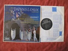 SXL 6204 NB. OSR, ANSERMET. Ravel. Daphnis et Chloé.