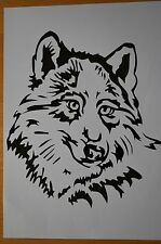 Wolf Aufkleber Sticker Auto Country Indianer m349