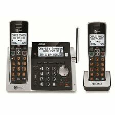 AT&T 83213 2-Handset Cordless Phone System with Answering Machine and Caller ID