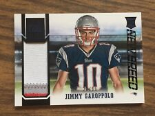 2014 Elite New Breed Jimmy Garoppolo Patch 3 Color Patriots/49ers #d 22/99