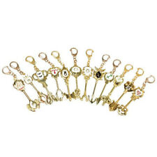 1PC Anime Fairy Tail Lucy Celestial Zodiac Gate Key Pendant Keychain Gift