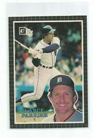 "LANCE PARRISH (Detroit Tigers) 1985 DONRUSS JUMBO CARD (3 1/2"" X 5"") #53"
