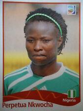 Panini Perpetua Nkwocha Nigeria FIFA Frauen WM 2011 Germany