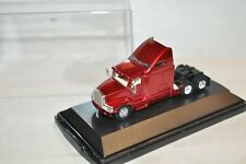 HO scale Malibu International die cast truck tractor Metallic red