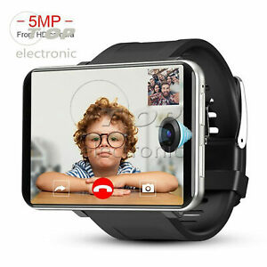 DM100 4G LTE Smart Watch Android 7.1 Phone GPS WIFI Camera 16GB/32GB Waterproof