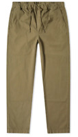 Albam Hendry Drawstring Trousers Mens Size UK 32 Olive *Ref59
