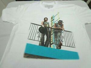 Yelawolf  Slumadian Tour With Fefe  White  Concert T Shirt  Size XL