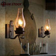 Vintage Wall Lamp Industrial Retro Loft Iron Wall Lights Sconce Lamp Fixture UK