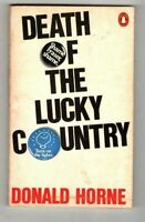 DEATH OF THE LUCKY COUNTRY ~ Donald horne