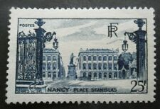 FRANCE-1948-Place Stanislas a Nancy N°822 neuf ** luxe