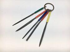 Needle File Set On Ring 5 piece Set