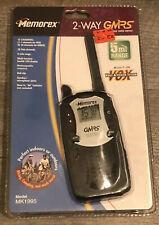 Memorex Mk1995 5-Mile 15-Channel Frs/Gmrs Two-Way Radio Vox w/ Belt Clip