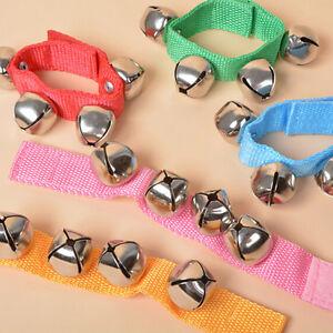 Lovely Baby Toddler Rainbow Wrist Foot Bell Rattle Pram Crib Shaker Toy H.H2_UK