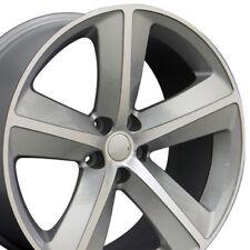 20x9 Silver 2357 Wheels Set 4 Fit Chrysler Dodge Charger Challenger Srt Style