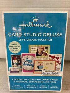 Hallmark Card Studio Deluxe 2017 Calendar~Scrapbook, Windows XP, 7, 8, 10