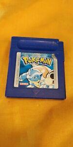Pokémon Bleu Nintendo GameBoy Advance GBA FRA VF AUTHENTIQUE