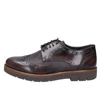 scarpe uomo SALVO FERDI 39 EU classiche t. moro pelle BX300-39