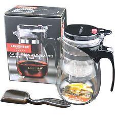 700ml 24oz Kamjove TP-757 Glass Gongfu Tea Maker Press Art Cup Teapot Infuser