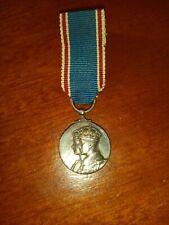Original 1937 Coronation Miniature Medal